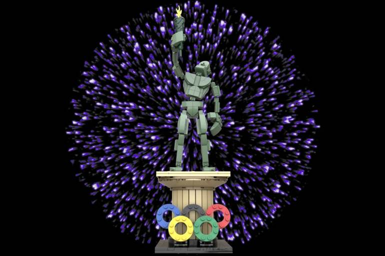 LEGO Ideas Contest Sports Olympic Statue