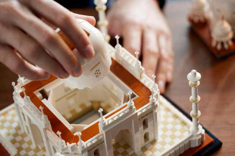 LEGO Architecture 21056 Taj Mahal 20