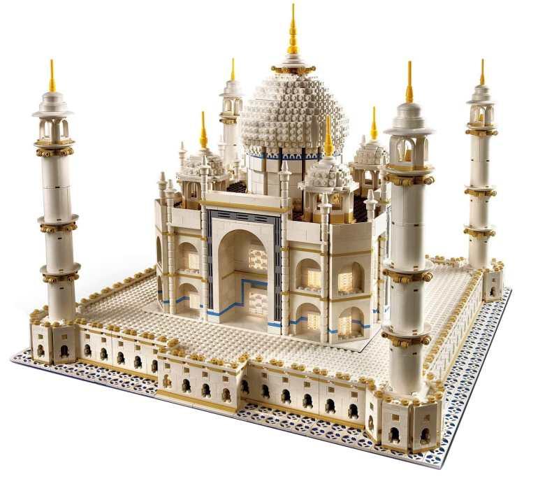 LEGO Taj Mahal Slider: Creator Expert Model