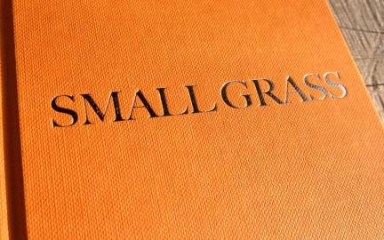 Small Grass hardback book