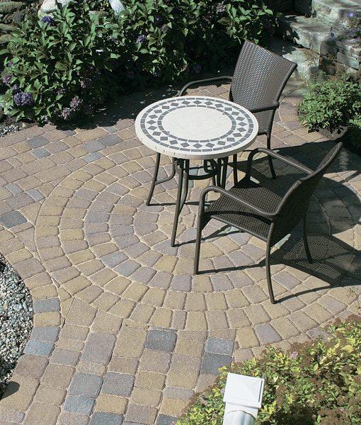 millstone circle pavers