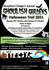Halloween Trail & Ghoulish Gardens