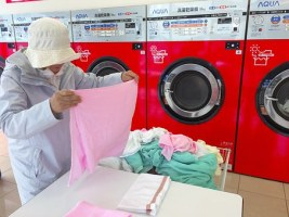 doing laundry services