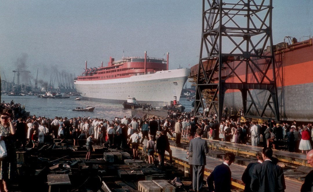 ss Rotterdam was launched 55 years ago