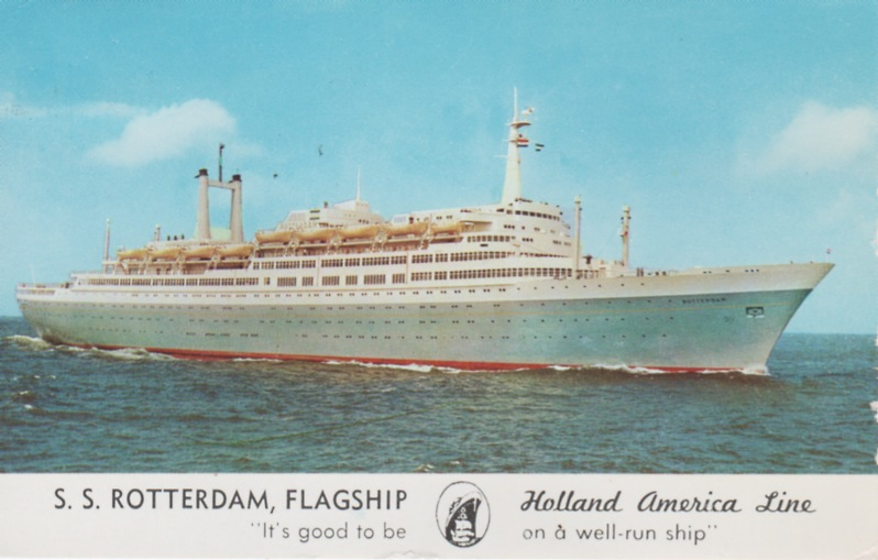 60 years ago the ss Rotterdam made her technical trials