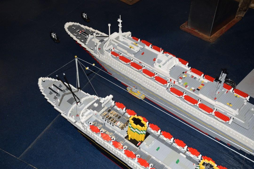 LEGO-modellen aan boord