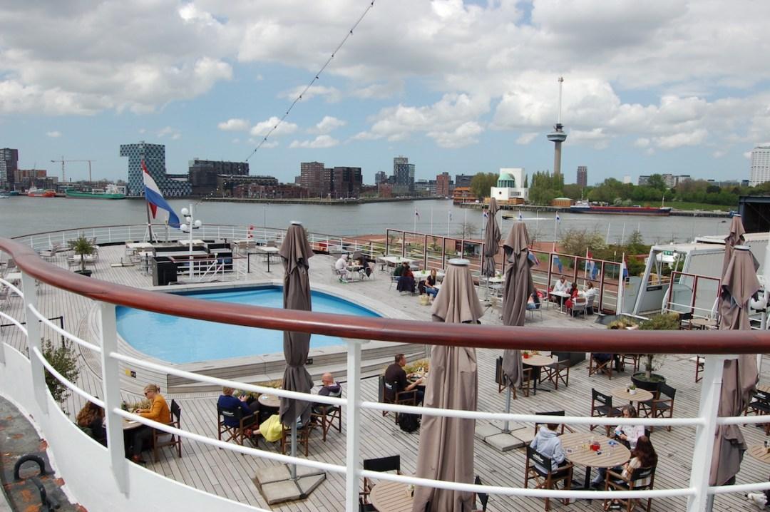 Het ss Rotterdam is weer open