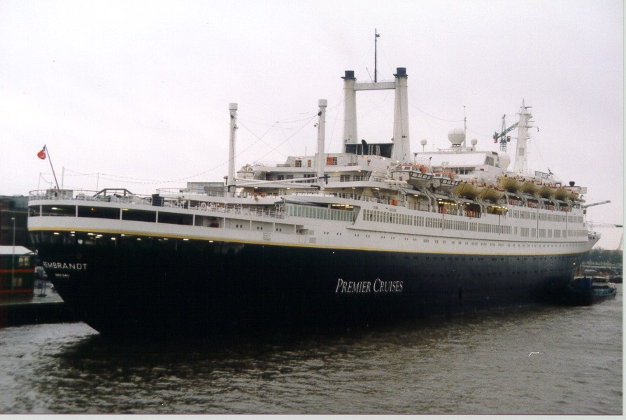 ss Rembrandt in Rotterdam