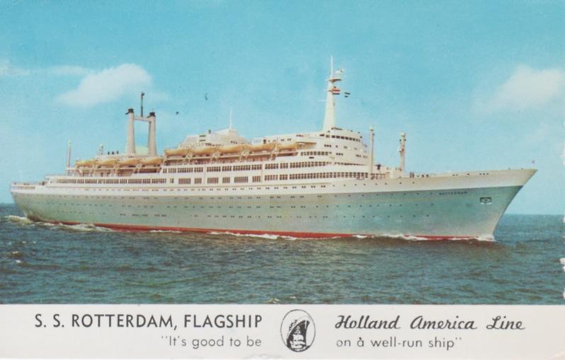 60 jaar geleden maakte het ss Rotterdam de technische proeftocht
