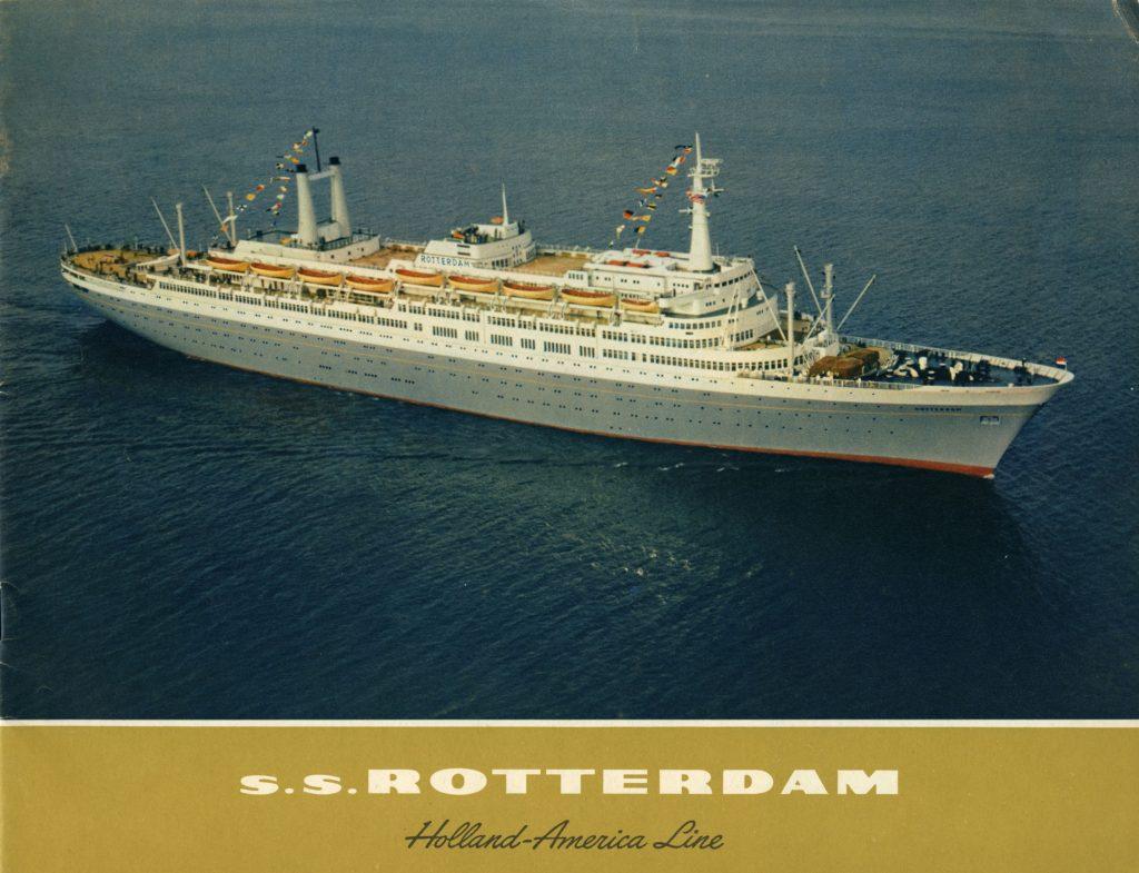 Eerste reis van het ss Rotterdam