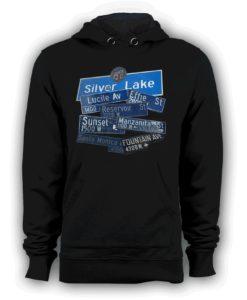 SilverLake pullover hoodie black