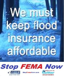 Keep flood insurance affordable. SMALL1