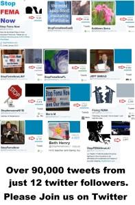 90K tweets by 12 SFN members