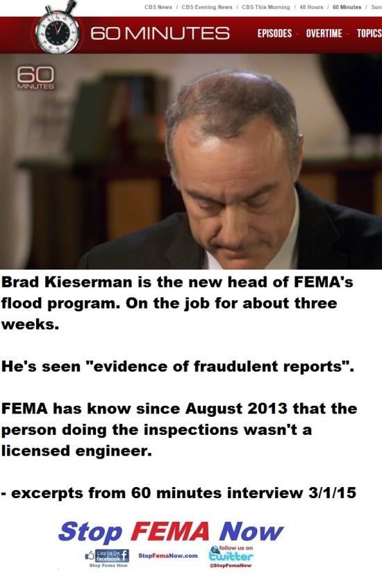 Brad Kieserman FEMA