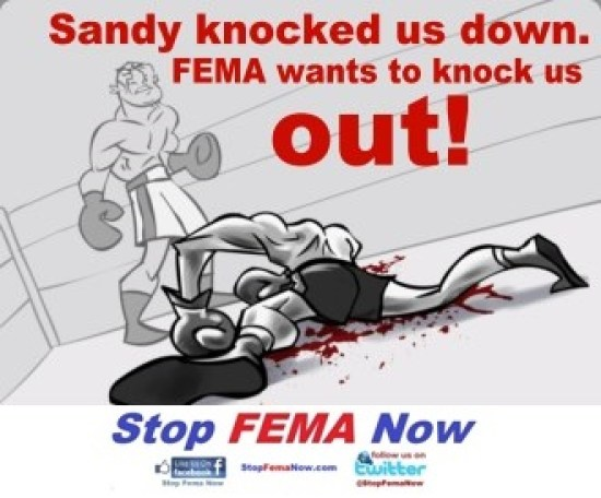 Fema knock us out