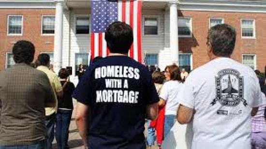 Homeless with a mortgage
