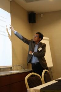 Azrul Mohd Khalib showing statistics about Malaysia