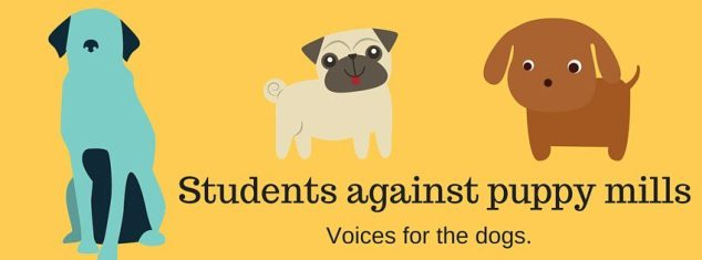 Students against puppy mills
