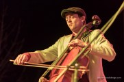 Andrew playing cello - Gipsy Moon