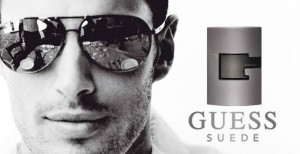 GUESS SUEDE for man photo