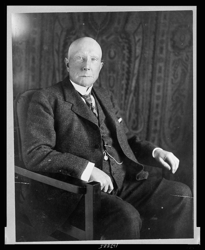 LOC Rockefeller portrait seated #3c23825v