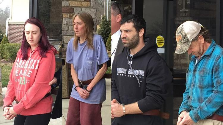 2018 Bucks Co Weaver Family Indicted