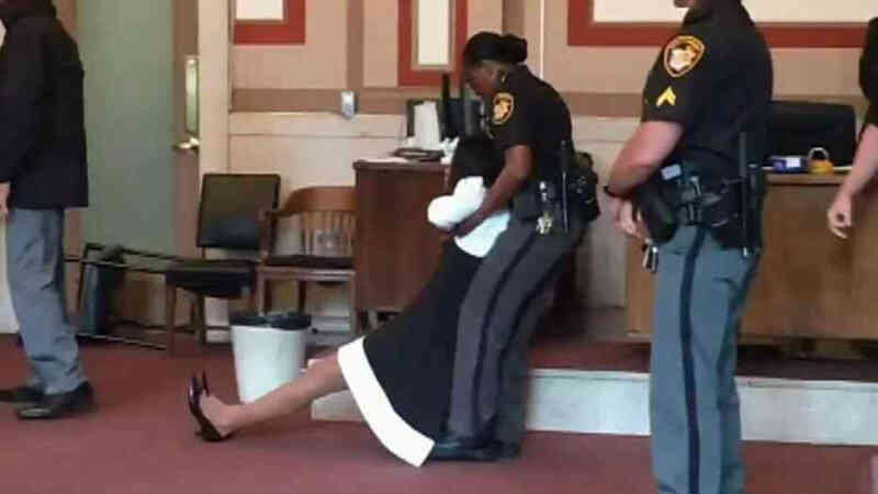 OHIO JUDGE DRAGGED SCREAMING FROM COURT – StopProbateFraud com