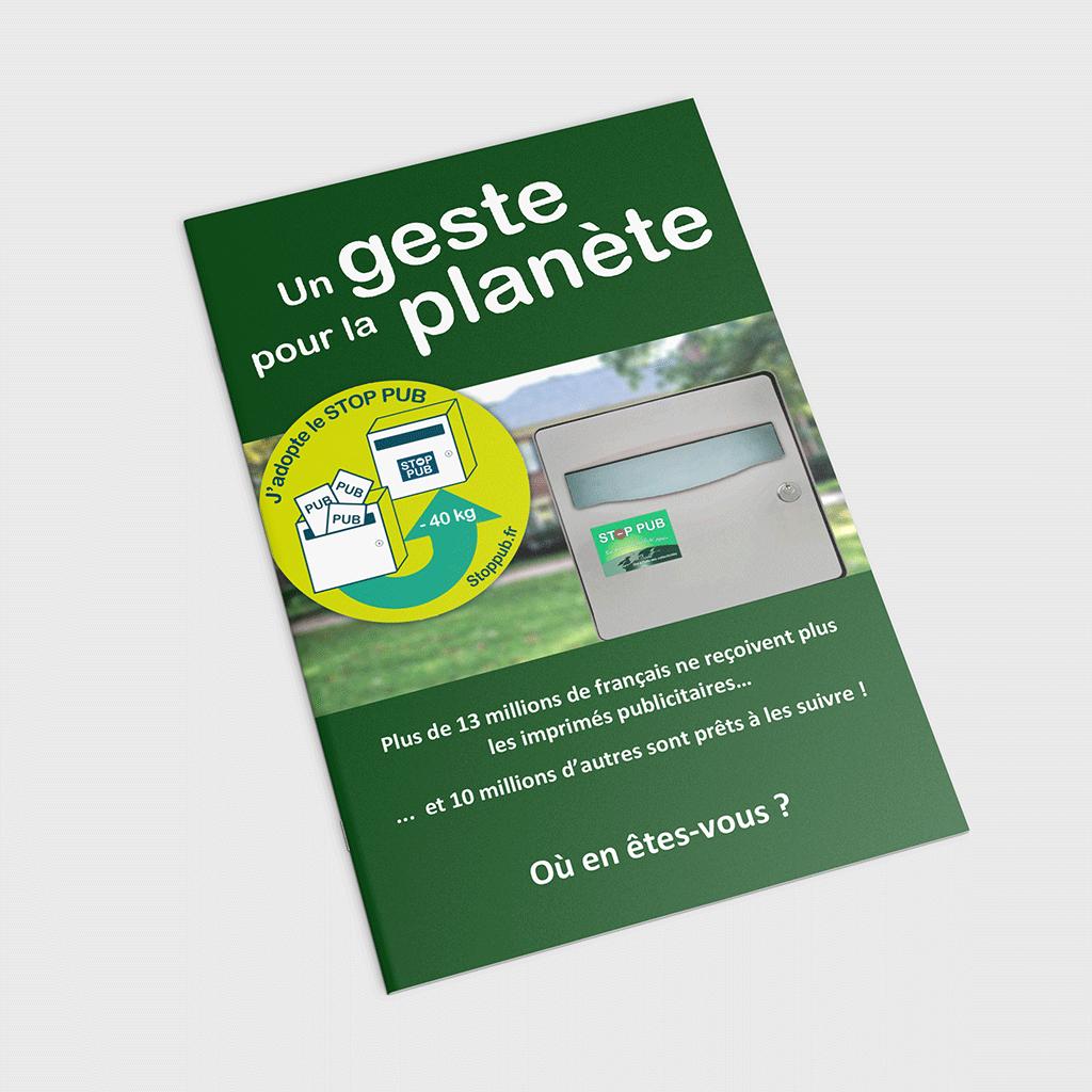 Brochure STOP PUB à destination des collectivités