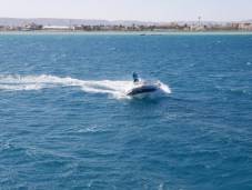 Boot in El Gouna