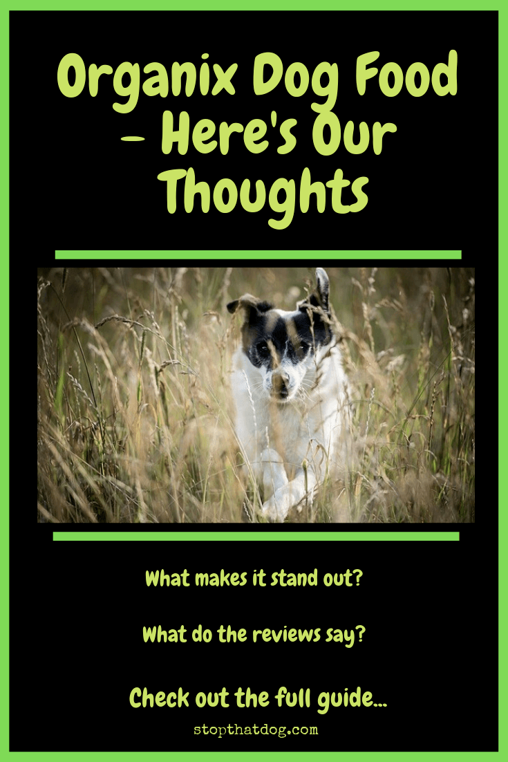 Organix Dog Food Reviews Here S Our Thoughts Stop That Dog