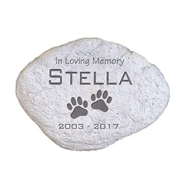 The Best Pet Memorial Stones - A Perfect Way To Honor Your Dog 19