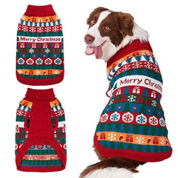 Christmas Dog Sweaters - Perfect Xmas Gift Ideas For Dog Owners 14