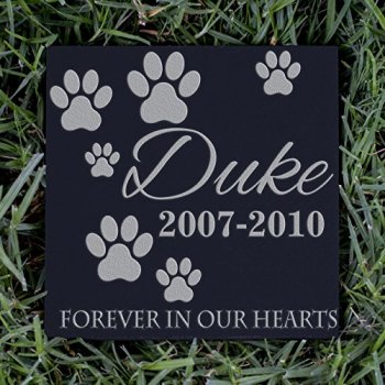 The Best Pet Memorial Stones - A Perfect Way To Honor Your Dog 16