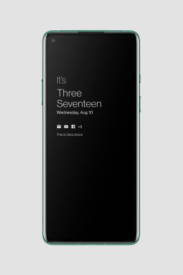 Ambient Display - Oxygen OS 11