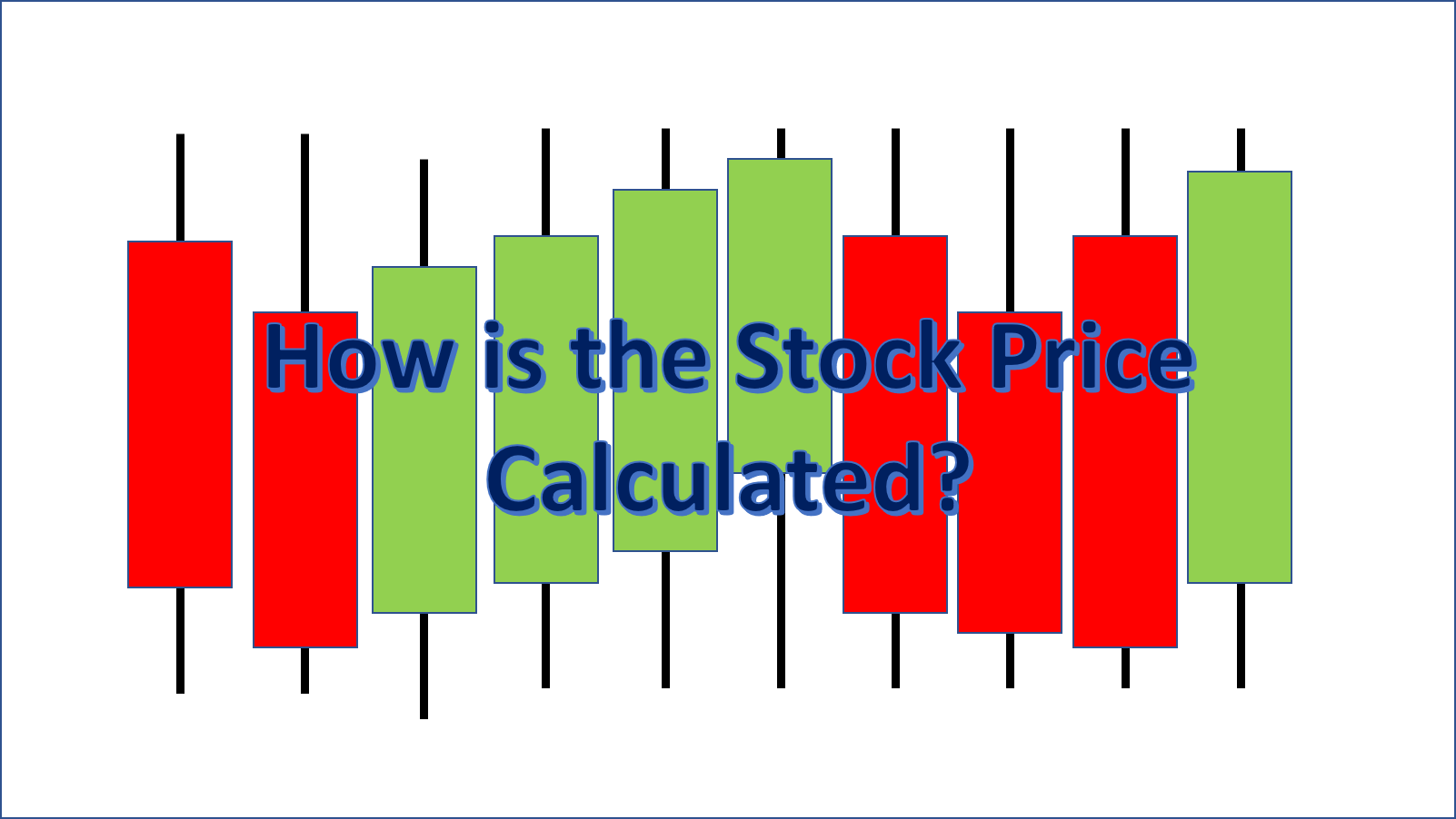 How is the Stock/Trade Price Calculated?