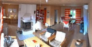 Stora Björnstugan Living-room