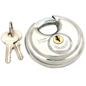 super secure disc lock for self storage customers