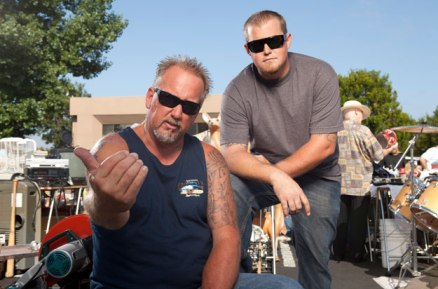 Darrell and Brandon Sheets Pose on Storage Wars After a Big Score