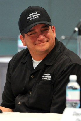dave hester smiling at a meeting
