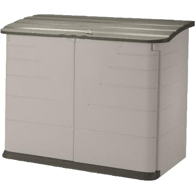 Rubbermaid upright storage shed