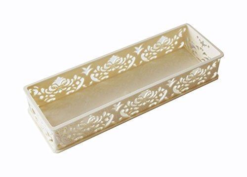 Plastic Storage Bins, Decorative Office Desktop/Desk Organizer Trays,  Kitchen Cabinet Drawer Dividers