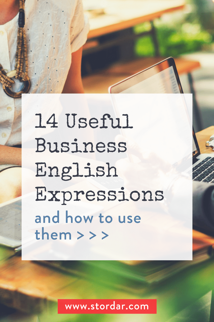 14 Useful Business English Expressions | Learn English Online