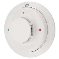 System sensor photoelectric smoke detector with thermal