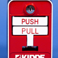 KIDDE 84-330001-002 3300 Conventional Dual Action Pull Station