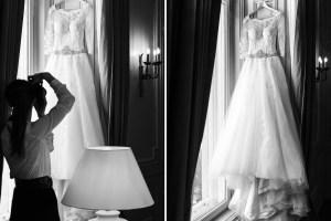 Details der Braut fotografieren