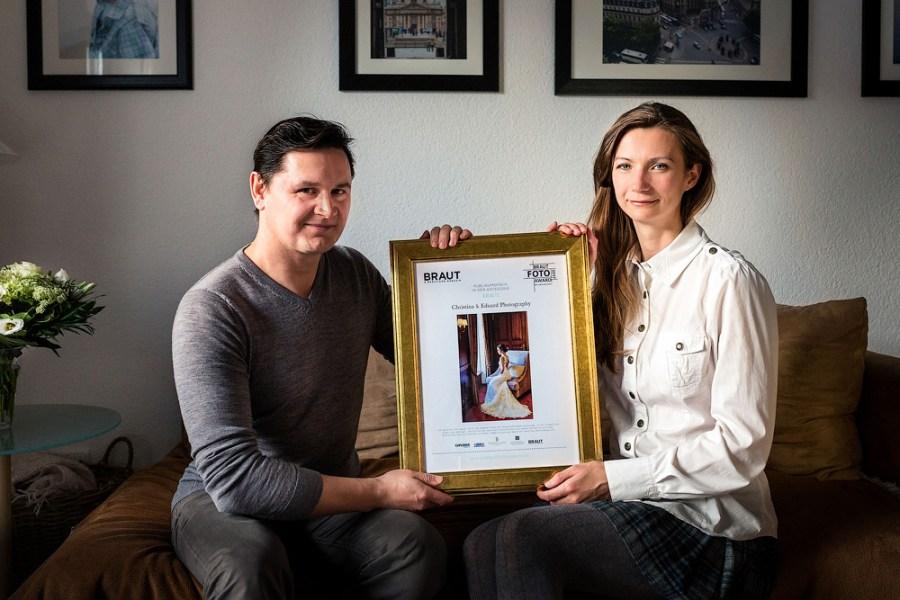 Preisverleihung vom Braut Foto Award 2017