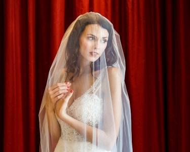 Tipps für romantische Brautportraits mit Schleier