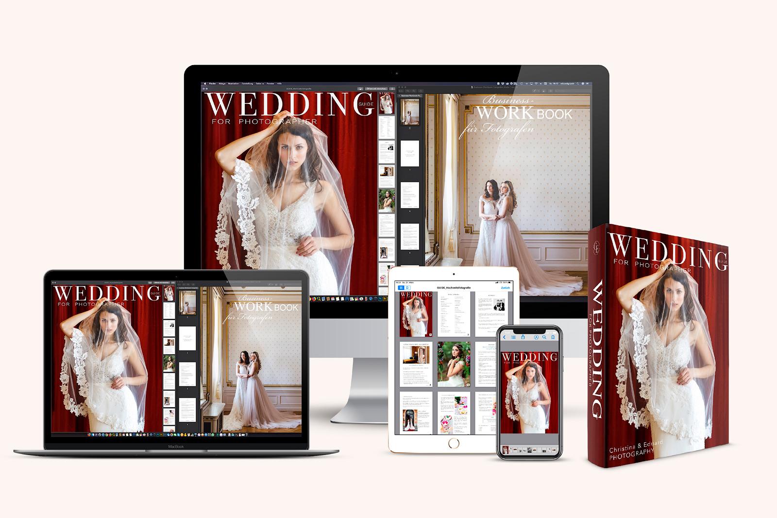 Hochzeitsfotografie Handbuch mit Workbook