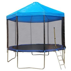 Outdoor Trampoline with Canopy