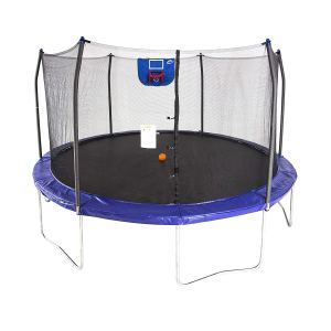 Trampoline with Safety Enclosed and Basketball Hooks for kids and Adult